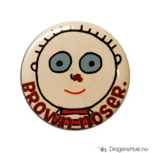 Bilde av Button 37mm: Brown Noser