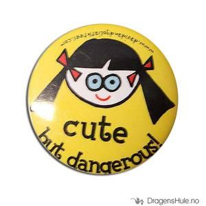 Bilde av Button 37mm: Cute but dangerous!