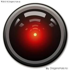 Bilde av  Button: HAL 9000