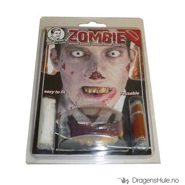 Sminke-FX: Tanngard -Zombie