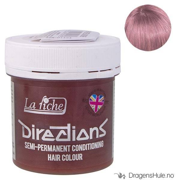 Hårfarge: Pastel Rose -Directions